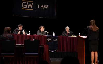 GW Law Moot Court Nationally Ranked