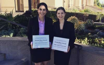GW Law Places 2nd at the National Criminal Procedure Moot Court Competition