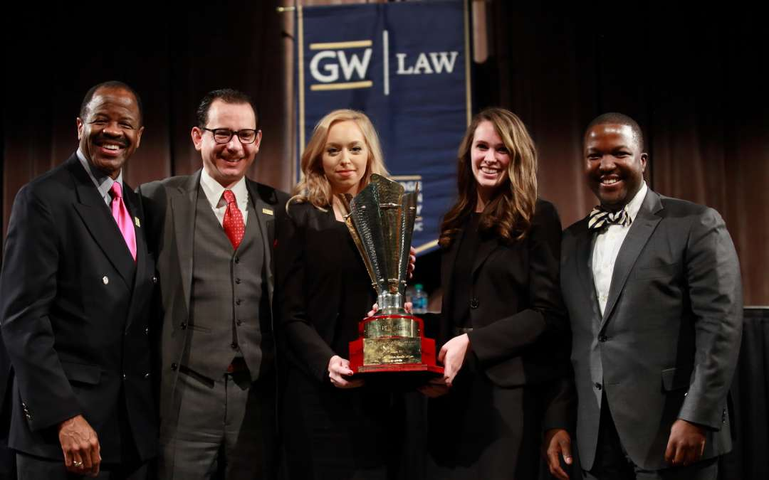 GW Wins the KK Luthra Moot Court Competition in India