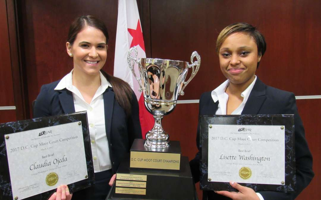 GW Wins 2017 D.C. Cup Moot Court Competition