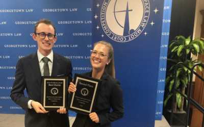 GW Reaches Finals in Space Law Competition